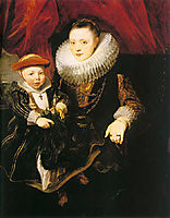 Young Woman with a Child, 1618, dyck