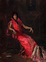 An Actress, 1903, eakins