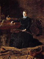 Antiquated Music, 1900, eakins