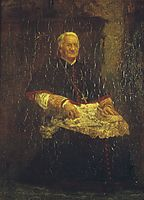 Archbishop James Frederick Wood, 1876, eakins
