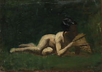 Boy Reclining , eakins