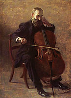 The Cello Player, 1896, eakins