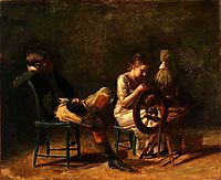 The Courtship, 1876, eakins