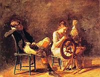 The Courtship, 1878, eakins