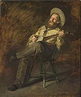 Cowboy Singing , eakins