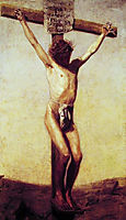 The Crucifixion, 1880, eakins