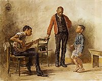 The Dancing Lesson, 1878, eakins