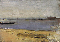 Delaware River Scene , c.1881, eakins