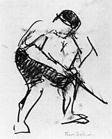 Drawing of a Workman , eakins