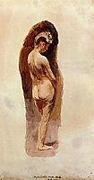 Female Nude, 1884, eakins