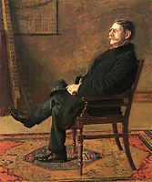 Frank Jay St. John, 1900, eakins