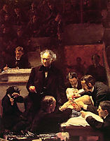 The Gross Clinic, 1875, eakins
