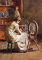 Homespun, 1881, eakins