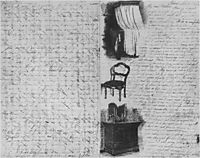 Illustrated letter written  to his family, 1866, eakins