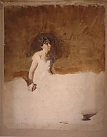 In the Studio (unfinished), 1884, eakins