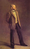 John McClure Hamilton, 1895, eakins