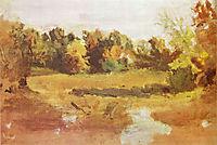 Landscape , 1884, eakins