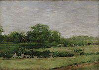 The Meadows, Gloucester, New Jersey, 1883, eakins