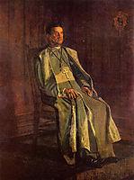 Monsignor Diomede Falconia, 1905, eakins