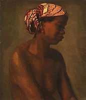 A Negress , eakins
