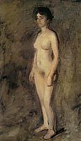 Nude Woman Standing , eakins
