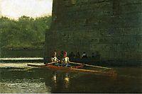 The Oarsmen, 1874, eakins