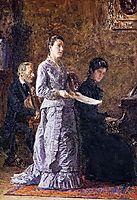 The Pathetic, c.1881, eakins