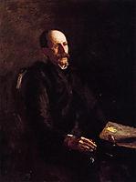 Portrait of Charles Linford, the Artist, eakins
