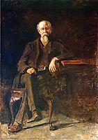 Portrait of Dr. William Thompson, 1907, eakins