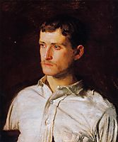 Portrait of Douglass Morgan Hall, 1889, eakins
