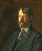 Portrait of Dr. Albert C Getchell , 1907, eakins