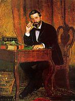 Portrait of Dr. Horatio C Wood , 1886, eakins