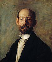 Portrait of Frank B. A. Linton, 1904, eakins