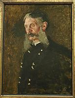 Portrait of General E. Burd Grubb, eakins