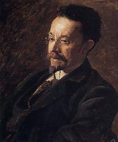 Portrait of Henry Ossawa Tanner, 1897, eakins