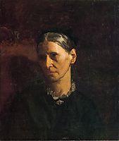 Portrait of Mrs. James W. Crowell, 1870-1875, eakins