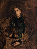 Portrait of Jennie Dean Kershaw, c.1897, eakins