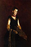 Portrait of Letitia Wilson Jordan, 1888, eakins