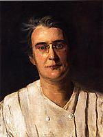 Portrait of Lucy Langdon Williams Wilson, 1908, eakins