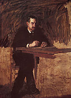 Portrait of Professor William D. Marks, 1886, eakins