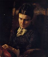 Portrait of Sarah Ward Brinton, 1878, eakins
