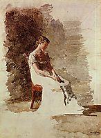 Retrospection, c.1880, eakins