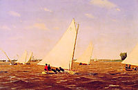 Sailboats Racing on the Delaware, 1874, eakins