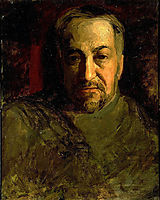 Self-portrait, c.1902, eakins