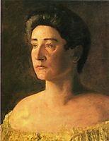 A Singer: Portrait of Mrs. Leigo, 1906, eakins