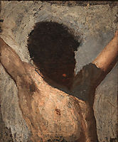 Sketch for the Crucifixion , 1880, eakins