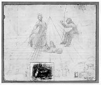 Sketch for Mr. Neelus Peeler0s Conditions , 1879, eakins