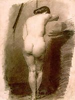Standing Nude, 1876, eakins