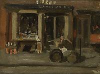 A Street Scene, eakins