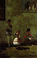 A Street Scene in Sevilla , 1870, eakins